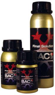 B.A.C. - FINAL SOLUTION 300ML.