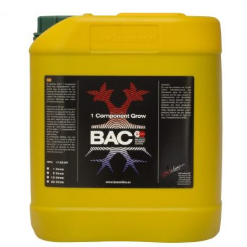 B.A.C. ONE COMPONENT GROW 10 L.