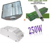 KIT 250W ETI + SPUDNIK 125 DELUXE + PURE LIGHT MH 250 W GROW