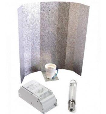 KIT 400W ETI + REFLECTOR STUCO + PURE LIGHT HPS 400W GROW-BLOOM MAX
