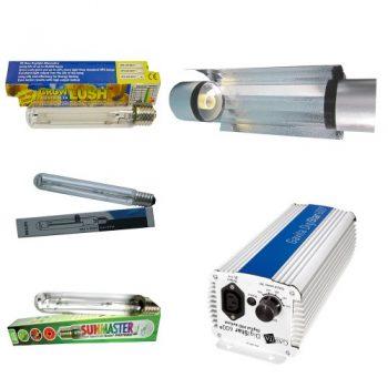 KIT 600W GAVITA + COOLTUBE 150MM + PURE LIGHT HPS 600 W GROW-BLOOM MAX
