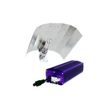 KIT 600W LUMATEK + REFLECTOR STUCO + PURE LIGHT HPS 600 W GROW-BLOOM MAX