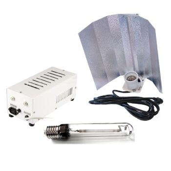 KIT 600W PRO GEAR PLUG & PLAY + COOLTUBE 125 + PURE LIGHT HPS 600 W GROW-BLOOM MAX