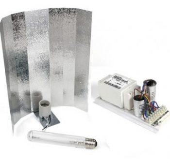 KIT 600W PRO GEAR + REFLECTOR STUCO + PURE LIGHT HPS 600 W BLOOM
