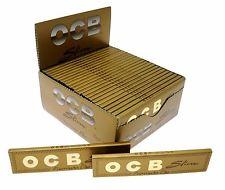 PAPEL DE FUMAR OCB SLIM PREMIUM GOLD KING SIZE