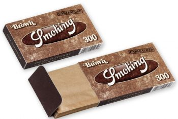 PAPEL DE FUMAR SMOKING BROWN 300 ( 40 LIBRITOS )
