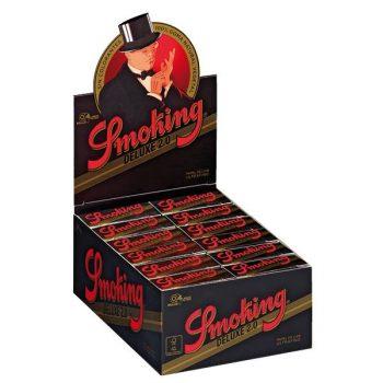 PAPEL DE FUMAR SMOKING DELUXE 1 1/4 (100 LIBRILLOS)