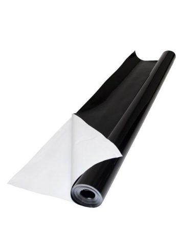 PLASTICO REFLECTANTE NEGRO-BLANCO 2X100 METROS 85 MICRAS