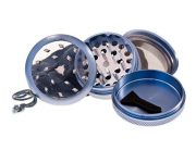 PLZ. PURE GRINDER CLEAR TOP 55MM AZUL