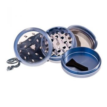 PLZ. PURE GRINDER CLEAR TOP 63MM AZUL