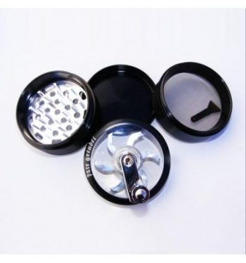 PLZ. PURE GRINDER CLEAR TOP ROLLER 63MM NEGRO