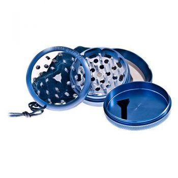 PURE GRINDER CLEAR TOP 55MM AZUL