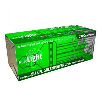 PURE LIGHT CFL 200 W GREENPOWER (2700K-6400K)