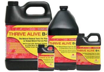 THRIVE ALIVE B1  RED 4 L TECHNAFLORA