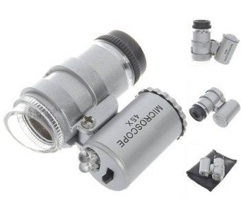 MICROSCOPIO MINI-LED 45X